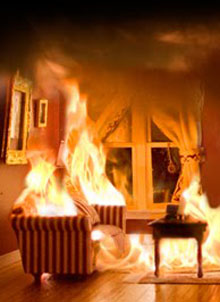 Furniture on Fire