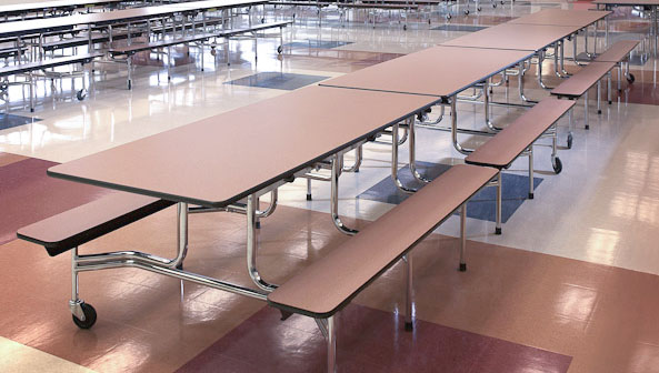 Folding Tables with Wheels