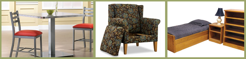 Special Needs Furniture Provider: Durable Furniture for all Rooms of your Facility.