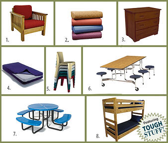 9 Pieces of Furniture camps