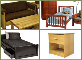 Crate Style Furnitures many styles