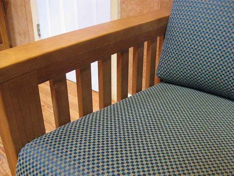 Image of a contract furniture fabric example.
