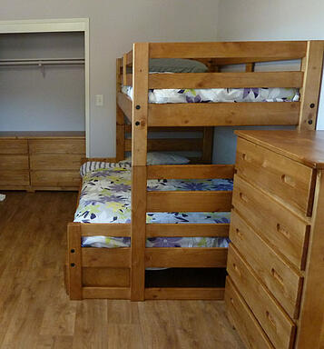 Bunks for shelters