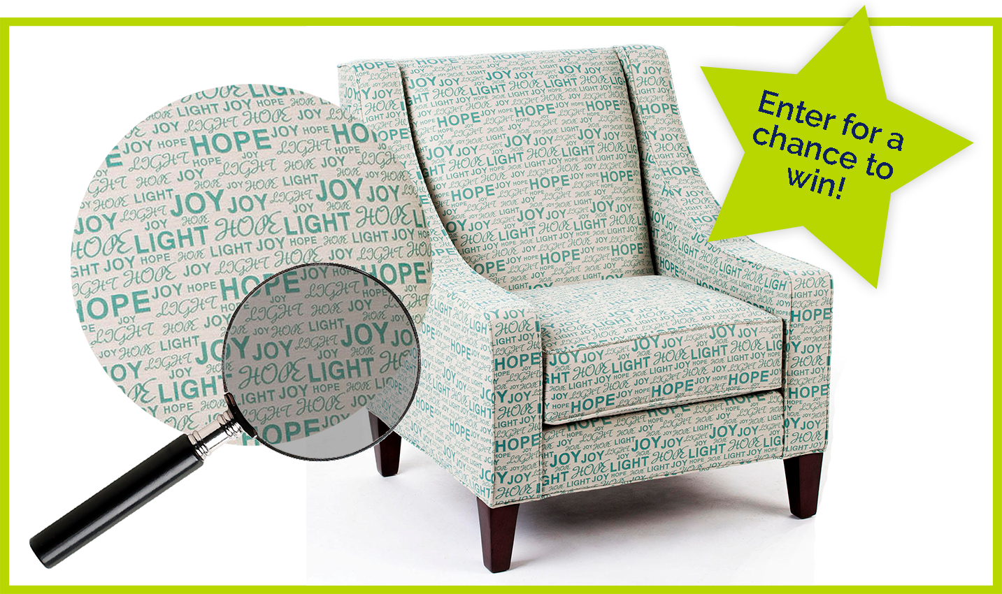positive thoughts chair contest